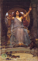 Image: Circe Offering the Cup to Ulysses by John William Waterhouse