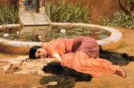Image: Dolce Far Niente by John William Godward