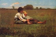 Image: Boys in the Pasture by Winslow Homer