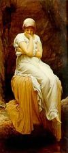 Image: Solitude by Lord Leighton