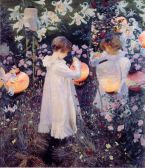 Image: Carnation, Lilly, Lilly, Rose by John Singer Sargent