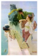 Image: A Coign of Vantage by Sir Lawrence Alma-Tadema