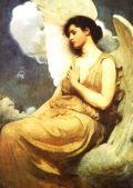 Image: Winged Figure by Abbott Handerson Thayer