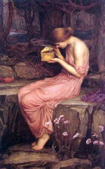 Image: Psyche Opening the Golden Box by John William Waterhouse