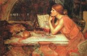 Image: The Sorceress by John William Waterhouse