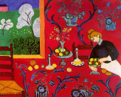 Image: Harmony in Red (The Dessert) by Henri Matisse
