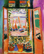 Image: Open Window, Collioure by Henri Matisse
