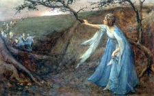 Image: Titania Welcoming Her Fairy Bretheren by Henry Maynell Rheam
