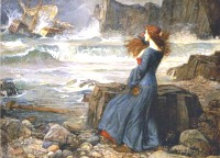 Image: Miranda: The Tempest by John William Waterhouse