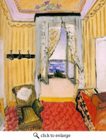 Image: My Room at Beau Rivage by Henri Matisse