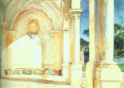 Image: Villa Falconieri by John Singer Sargent