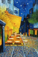 Image: Cafe Terrace at Night by Vincent Van Gogh