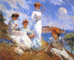Image: Summer 1909 by Frank Weston Benson