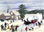 Image: Joy Ride by Grandma Moses